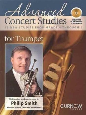 Advanced Concert Studies: 19 New Studies: Trumpet