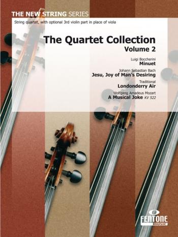 The Quartet Collection: Vol2: Minuet/Jesu Joy/Londonderry Air -Musical Joke  -String Quartet-sc&pts