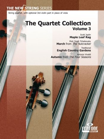 The Quartet Collection: Vol3 -maple Leaf Rag/march/ English Country /autumn -string Quart