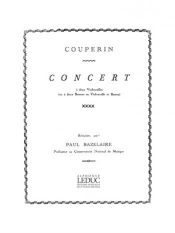 Concert In G: 2 Cellos (Leduc)