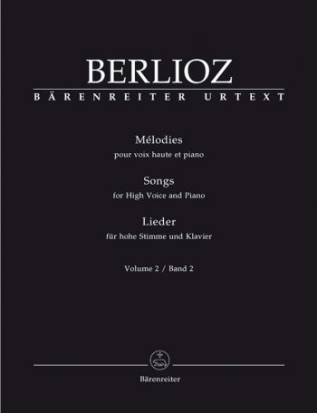 Songs: 2: High Voice: Voice and Piano   (Barenreiter)