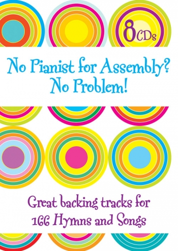 No Pianist For Assembly No Problem: Hymns And Songs: 8 Cd Set