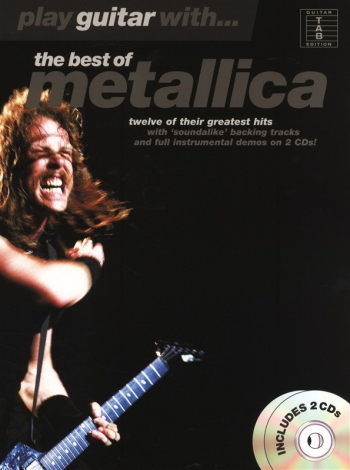 Play Guitar With Metallica: Best Of