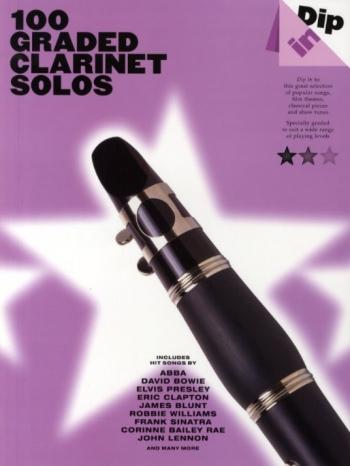 100 Graded Clarinet Solos  (dip In)