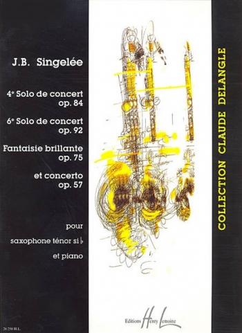 4 Pieces De Concert: Tenor Saxophone & Piano