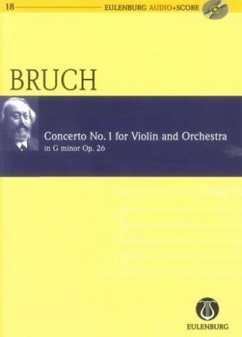 Concerto For Violin Op26 No 1: G Minor Score Book & CD