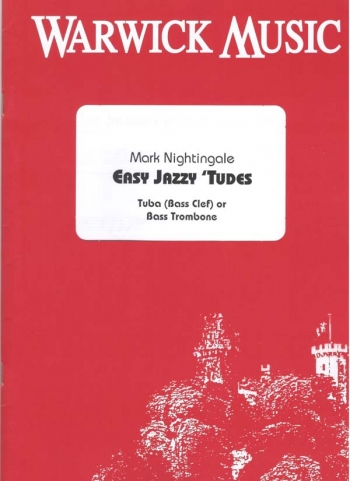 Easy Jazzy Tudes: Bass Clef Tuba Book & Cd (nightingale)