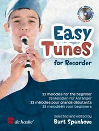 Easy Tunes For Recorder: 33 Melodies For The Beginner