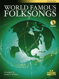 World Famous Folksongs: Violin: Book & CD