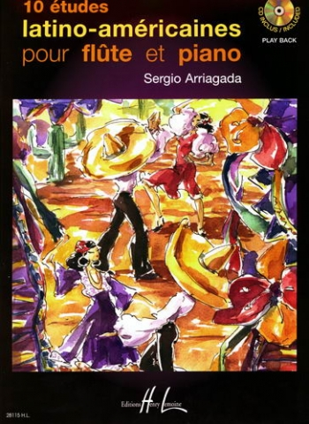 10 Latin American Studies: Flute: Book & cd