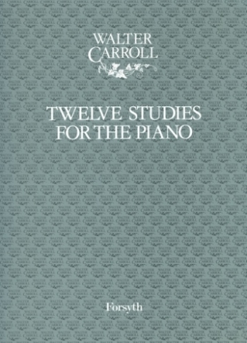 12 Studies: Piano: Grade 2-3 (Water Carroll)