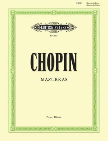 Mazurkas: Piano (Peters)