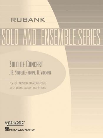 Solo De Concert: Op83: Tenor Saxophone