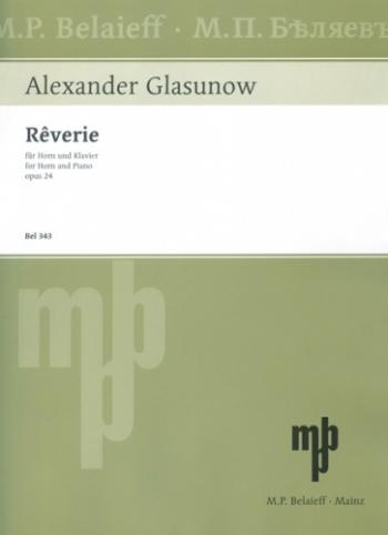 Reverie: Op24: French Horn  (Belaieff)