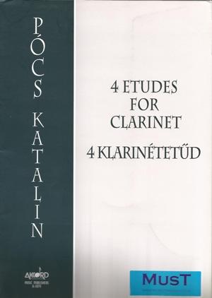 4 Etudes: Clarinet