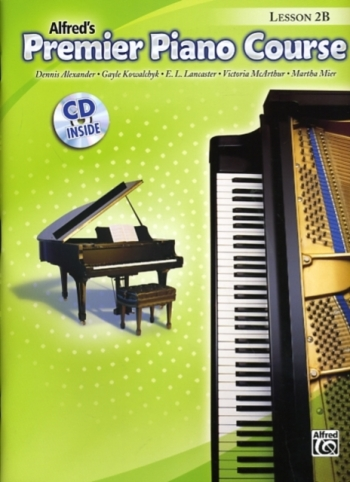 Alfred Premier Piano Course 2b: Lesson Book