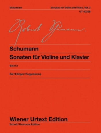 Violin Sonatas: Vol 2 Violin and Piano (Wiener Urtext)