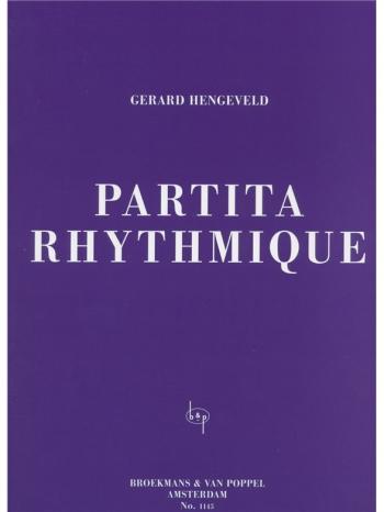 Partita Rhythmique: Piano Solo  (Broekmans)