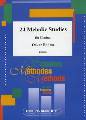 24 Melodic Studies: Clarinet