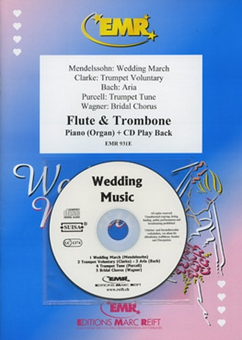 Wedding Music for Flute and Trombone and Piano (Or Organ)