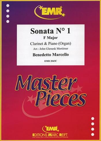 Clarinet Sonata: 1: F Major: Clarinet & Piano