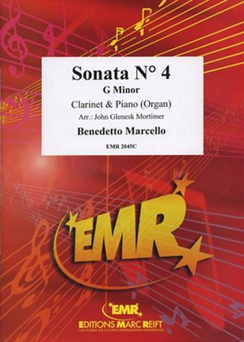 Clarinet Sonata: 4: G Minor: Clarinet & Piano
