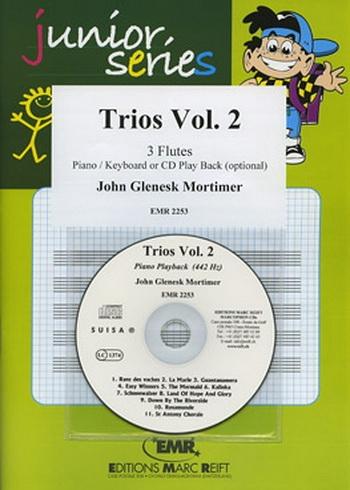 Junior Series: Trios Vol.2: Flute Trio Book & CD