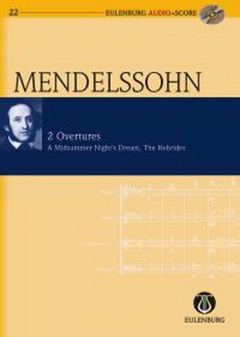 Two Overtures Midsummer and Hebreides  (Audio Series No 22)