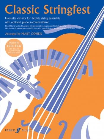 Classic Stringfest: Flexible String Ensemble: Score and Partsandcd   (cohen)