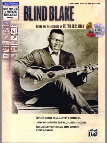Blind Blake: Guitar: Book & CD