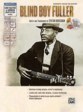 Masters Of American Blues Guitar: Blind Boy Fuller Book & Cd  (grossman)