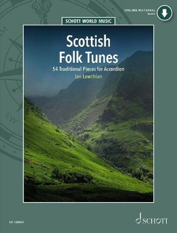 Scottish Folk Tunes: 54 Traditional Piece: Accordion: Book & CD
