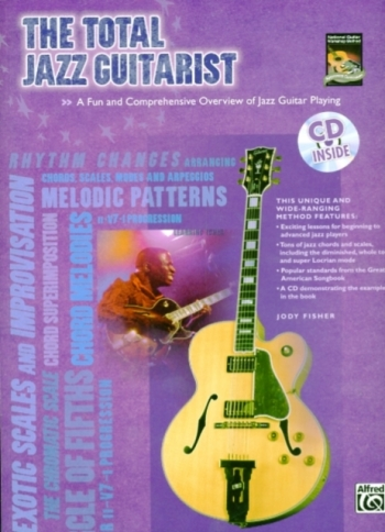 Alfred: Total Jazz Guitarist: Book & CD