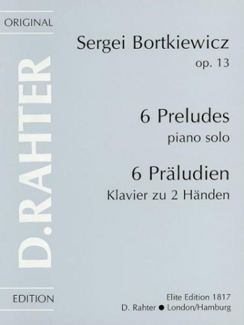 6 Preludes Op.3: Piano
