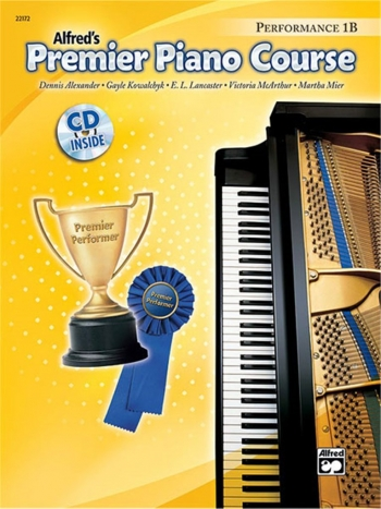 Alfred Premier Piano Course 1b: Performance