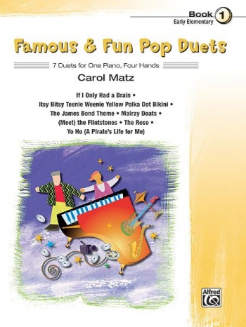 Famous and Fun Pop Duets Book 1: 7 Duets: 1 piano: 4 Hands
