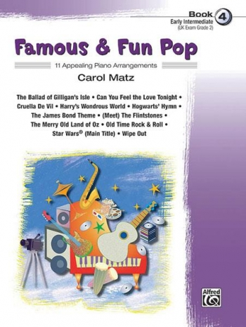 Famous and Fun Pop Book 4: 11 Arrangement For Piano