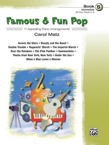 Famous and Fun Pop Book 5: 11 Arrangements For Piano