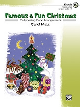 Famous and Fun Christmas  Book 5: 15 Arrangements