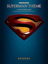 Superman Theme: Big Note Piano Edition