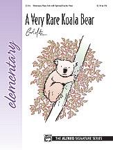 A Very Rare Koala Bear: Elementary  Piano