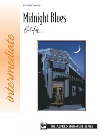 Midnight Blues:  Intermeadiate Piano Solo