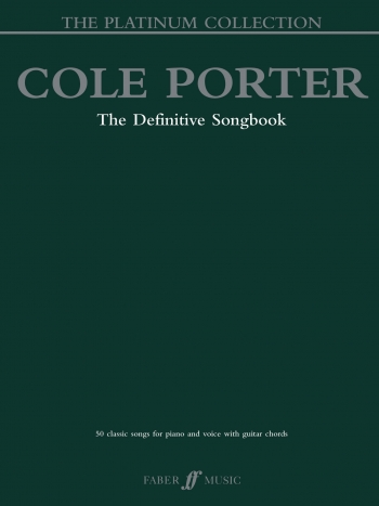 Cole Porter: Platinum Collection: The Definitive Songbook: Piano Vocal Guitar