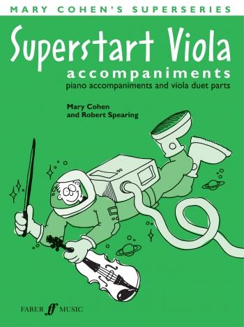 Superstart Viola: Tutor: Complete Piano Accompaniment