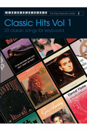 Easy Keyboard Library: Classic Hits Vol1