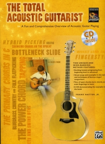 The Total Acoustic Guitarist: Book & CD