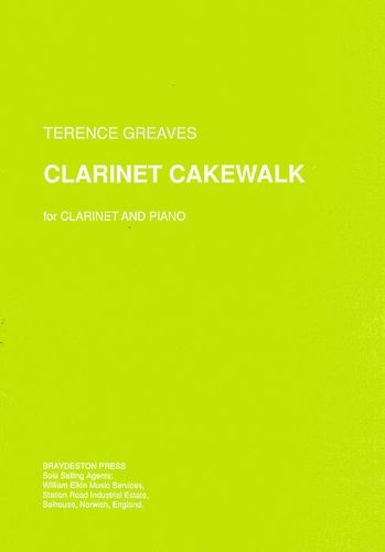 Clarinet Cakewalk: Clarinet & Piano