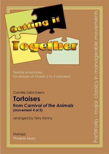 Saint-saens-carnival Of The Animals: Tortoises: Flexible Ensemble: Scandpts