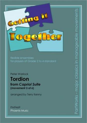 Ens: Warlock: Capriol Suite: Tordion: Ensemble: Scandpts (getting It Together/kenny)