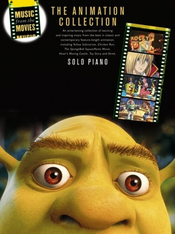 Music From The Movies: The Animation Collection: Piano Solo